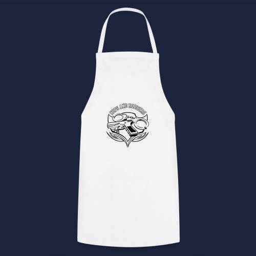 raglan CxR tee with large back logo - Cooking Apron