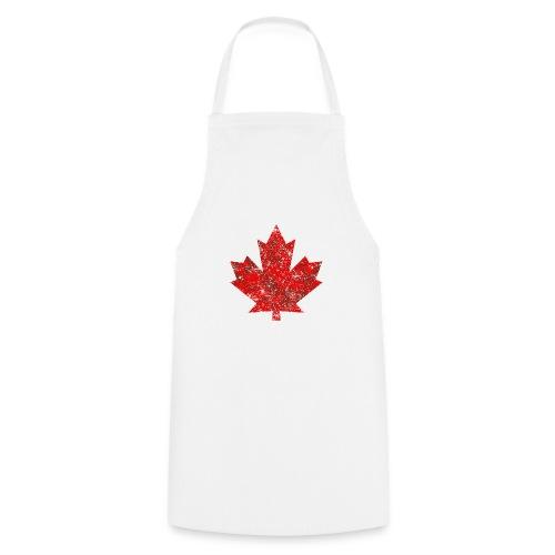 Kanada Canada Maple Leaf Ahornblatt Grunge Amerika - Cooking Apron