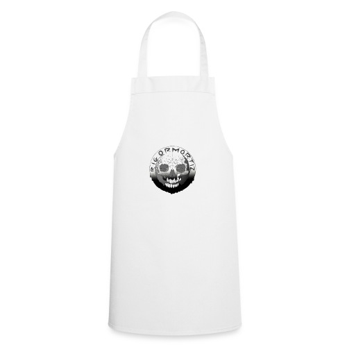 Rigormortiz Black White Design - Cooking Apron