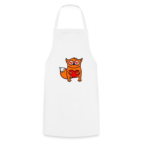 verliebter Fuchs - Herz rot T-Shirts - Kochschürze