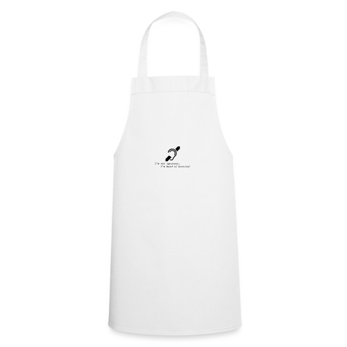 hearing - Cooking Apron