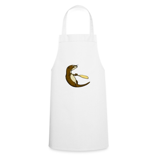 Song of the Paddle; Quentin classic pose - Cooking Apron
