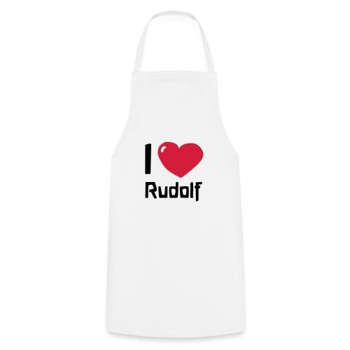 I love Rudolf - Kochschürze