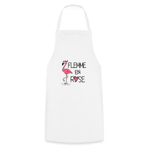 Flamant Rose / Flemme en Rose - Tablier de cuisine