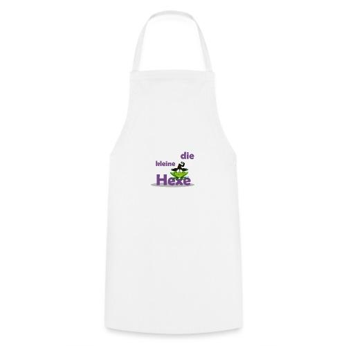 Baby Bio-Langarm-Body Kleine Hexe Wunschname - Kochschürze