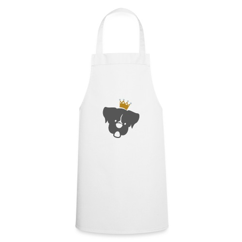 Prinz Poldi grau - Kochschürze