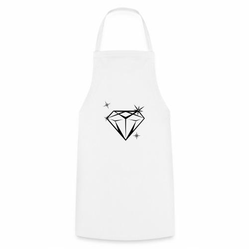 diamonds_blanco - Kochschürze