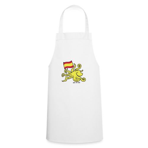 Paul the Octopus is Spanish! - Cooking Apron