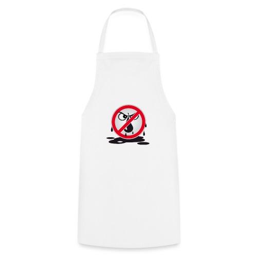 Erdöl Nein danke - Kochschürze