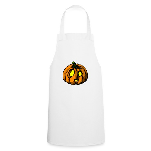 Pumpkin Halloween scribblesirii - Cooking Apron