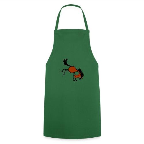 buckelndes Pferd - Kochschürze