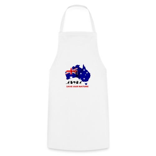 Australien - RETTE LEBEN - JETZT! - Kochschürze