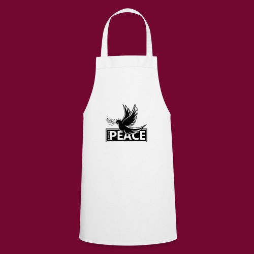 I Have Peace Black - Cooking Apron