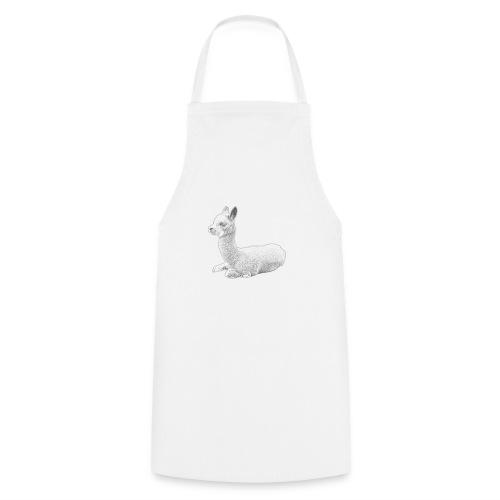 Kleines Alpaka - Kochschürze