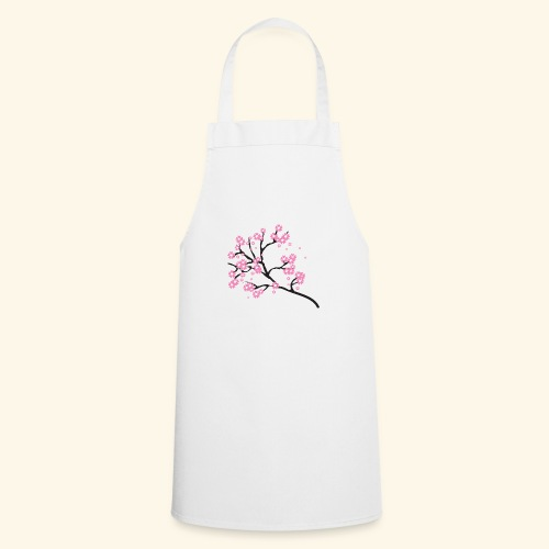 Pink blossoms branch - Cooking Apron