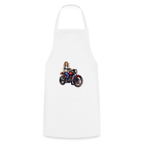 Girl on Bike - Cooking Apron