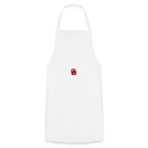 Würfel Rot - Kochschürze