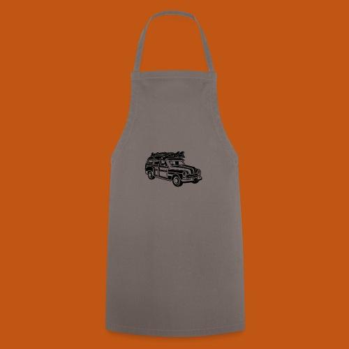 Chevy Cadilac Woodie / Oldtimer Kombi 01_schwarz - Kochschürze
