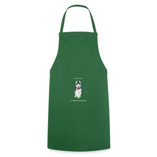 Husky Welpen mit bezaubernden Augen - Kochschürze