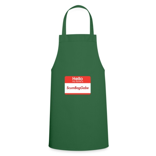 Hello My Name Is ScumBagGabe - Cooking Apron