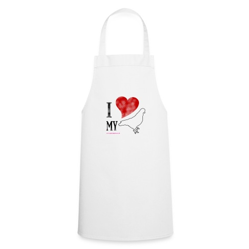 i love my pigeon - Cooking Apron