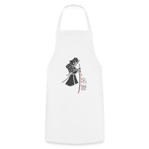 Samurai Digital Print - Kochschürze