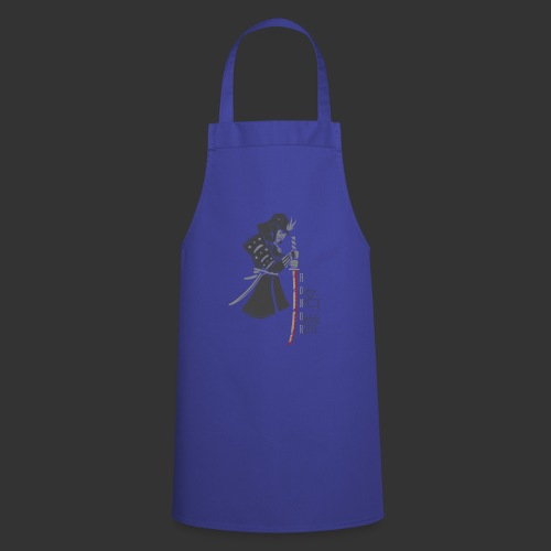 Samurai Digital Print - Cooking Apron