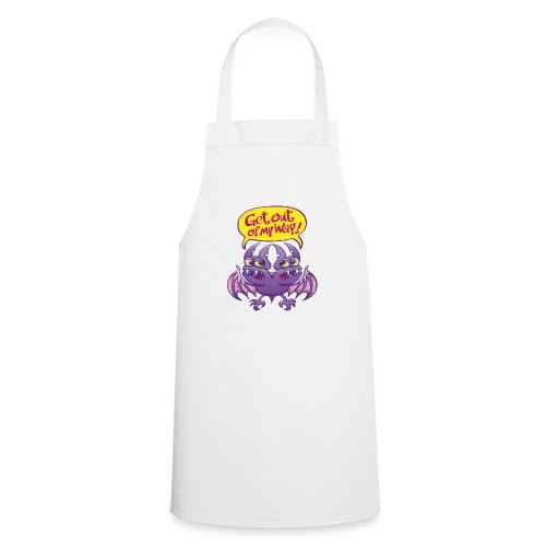 Get out of my way two-headed bat - Cooking Apron