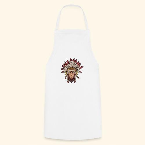 Tête de singe singes drôles - Tablier de cuisine