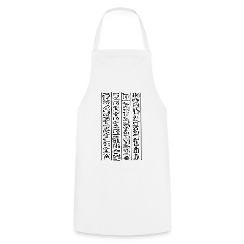 Hieroglyphen - Kochschürze