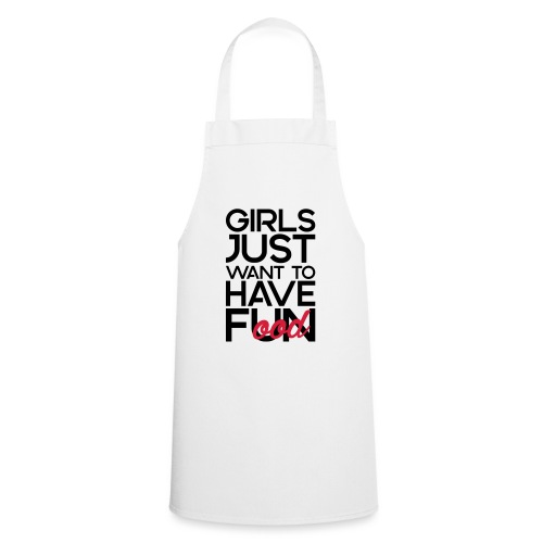 Girls just want to have food - Keukenschort