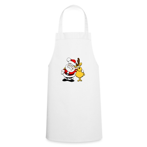 Santa and Reindeer - Cooking Apron