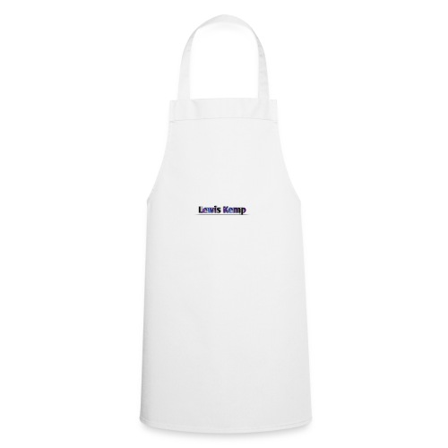 Lewis Kemp new name - Cooking Apron