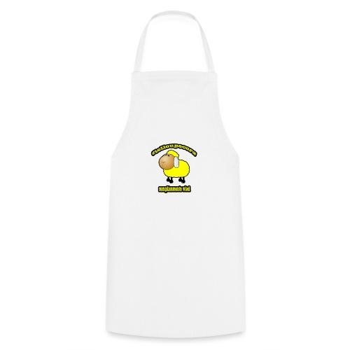 #ielloupecora - Grembiule da cucina