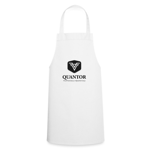 Quantor Logo Black - Kochschürze