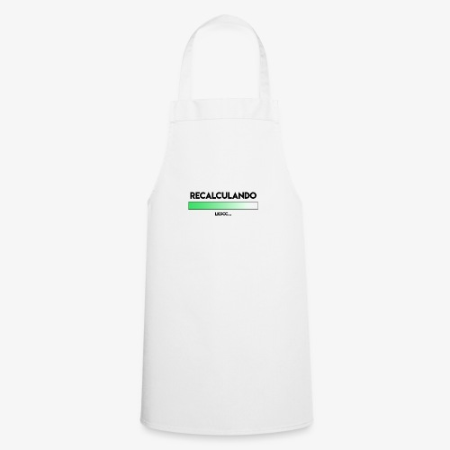 RECALCULANDO - Delantal de cocina