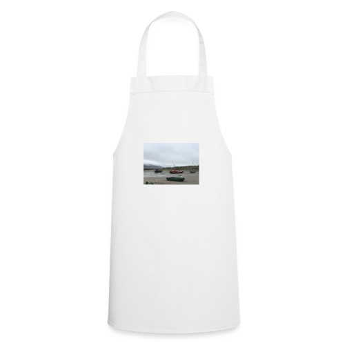 boats on barmouth beach - Cooking Apron