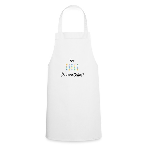 Crypto Bro - Tablier de cuisine