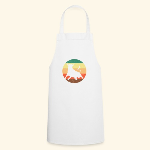 South American Bull Retro - Cooking Apron
