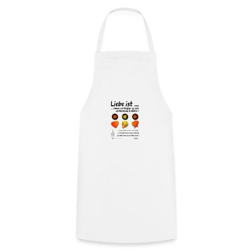 Design Liebe ist immer verfügbar zu sein - Kochschürze