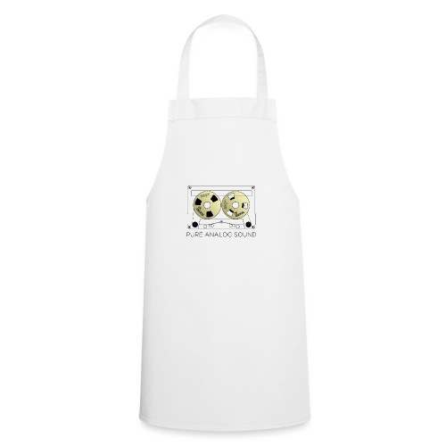 Reel gold cassette white - Cooking Apron