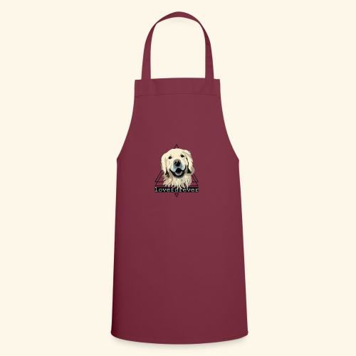 RETRIEVER LOVE FOREVER - Delantal de cocina
