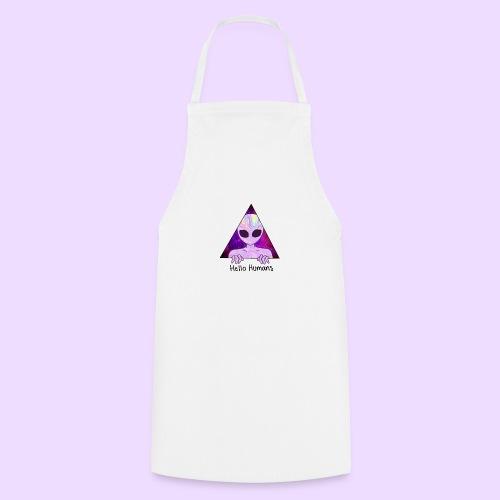 Alien/Hello Humans - Delantal de cocina