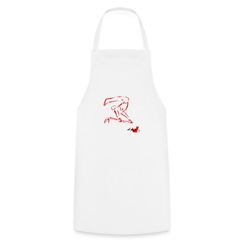 GINNASTA ALLA SBARRA ROSSO - Grembiule da cucina