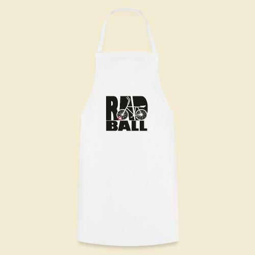 Radball | Typo Black - Kochschürze
