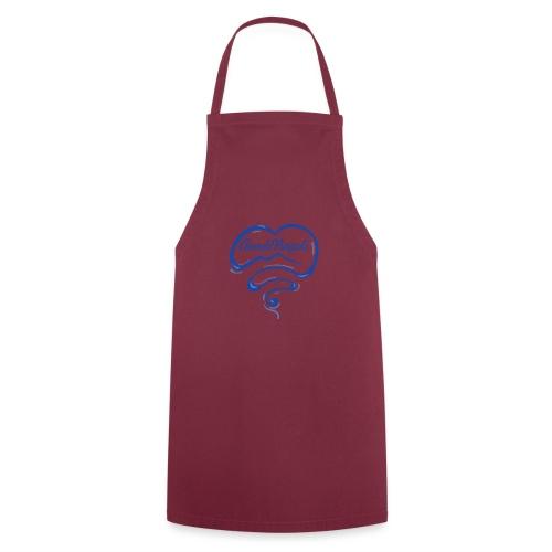 New Logo CuordiNapoli Blu - Grembiule da cucina