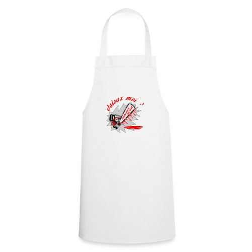 t shirt jaloux moi amour possessif humour FS - Tablier de cuisine