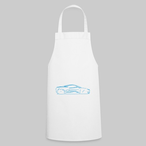 car sketch - Cooking Apron