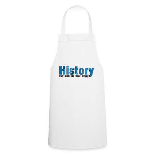Blue Repeat History - Cooking Apron