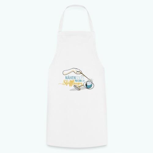 Nähen Putzen Frauen Spruch Handarbeit - Kochschürze
